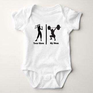 Your Mum My Mum Funny Fitness Tee Shirts