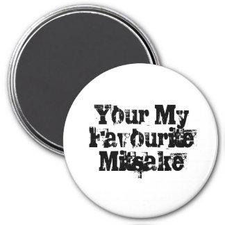 Your My Favourite Mitsake 7.5 Cm Round Magnet
