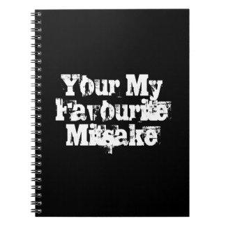 Your My Favourite Mitsake Notebook