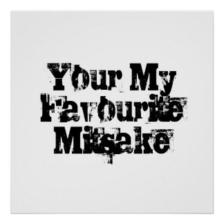 Your My Favourite Mitsake Poster