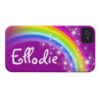 """""""Your name"""" (7 letter) rainbow purple iphone case iPhone 4 Covers"""