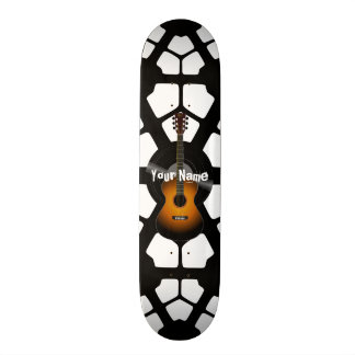 Your Name Acoustic Guitar Skateboard