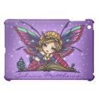 """""""Your Name"""" Bookworm Fairy Fantasy Art Hannah Lynn iPad Mini Cover"""