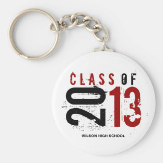 """""""your name"""" Class of 2013 Key-Chain Basic Round Button Key Ring"""