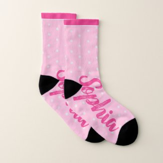 Your Name Fashion Socks