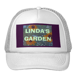 """YOUR NAME,""  GARDEN - HAT"