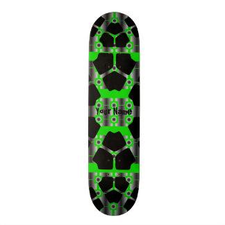 Your Name Green Tech Skateboard
