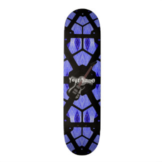 Your Name Guitar Skateboard