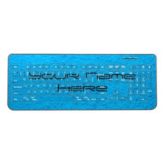 Your Name Here Custom Wireless Keyboard
