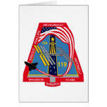 YOUR_NAME_HERE STS-119 Logo Card