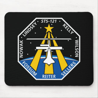 YOUR_NAME_HERE STS-121 Logo Mouse Pad