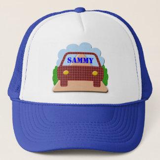 Your name in Car window-hat Trucker Hat