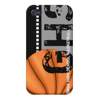 Your Name iPhone 4 Speck Case Basketball iPhone 4/4S Cases