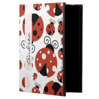 Your Name - Ladybugs, Ladybirds - Red Black Powis iPad Air 2 Case