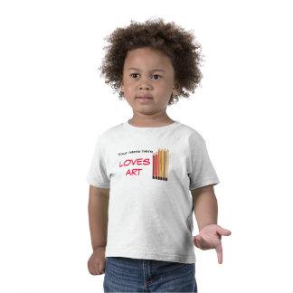 Your name loves art tshirt
