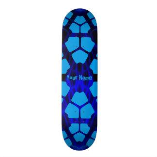 Your Name Modern Blue 20.6 Cm Skateboard Deck