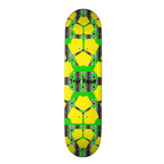 Your Name Modern Tech 18.1 Cm Old School Skateboard Deck