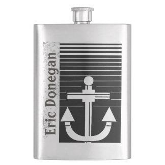 Your Name on Nautical Flask