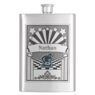 Your Name on this DJ Flask