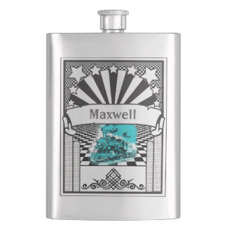Your Name on this Locomotive Flask