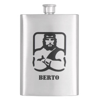 Your Name on this Manly Flask