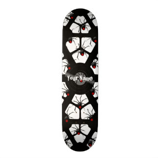 Your Name Spider Skateboard