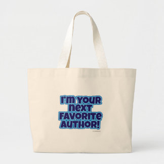 Your Next Favorite Author Jumbo Tote Bag