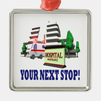 Your Next Stop Christmas Ornament