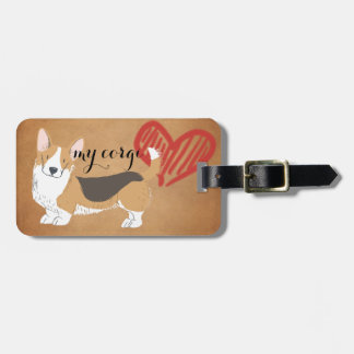Your Own Corgi Travel Tag