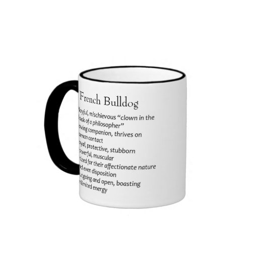 Your Own Dog's Picture French Bulldog Breed Mug
