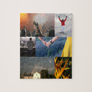Your Own Photo Collage Jigsaw Puzzle
