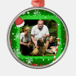 Your own photo in a Christmas frame! - Christmas Ornament