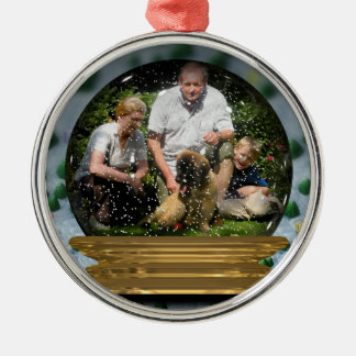 Your own photo in a Snowglobe Frame! - Christmas Ornament