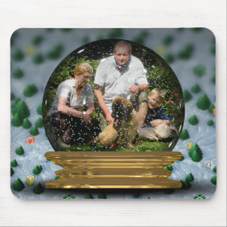 Your own photo in a Snowglobe Frame! - Mouse Pads