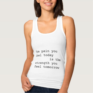 Your Pain, Your Strength Tank Top