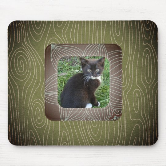 Your Pet Has Been Framed! Mouse Mat
