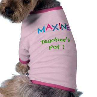 Your Pet's Name by SRF Pet Tshirt