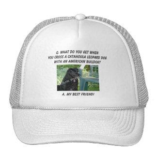 Your Photo! Best Friend Catahoula Leopard Dog Mix Cap
