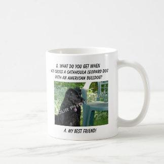 Your Photo! Best Friend Catahoula Leopard Dog Mix Coffee Mug