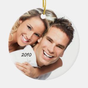 Your Photo Christmas Ornament