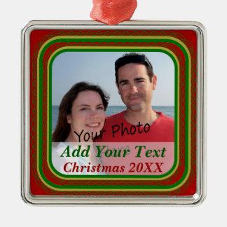 Your Photo Christmas Premium Ornament