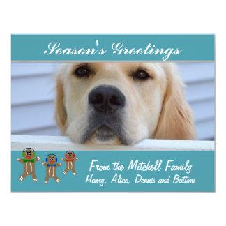 Your photo - DIY Custom Holiday Card 11 Cm X 14 Cm Invitation Card