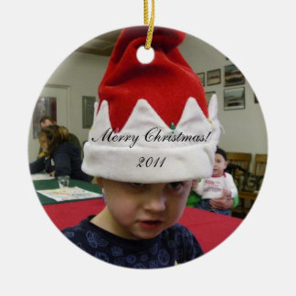 Your Photo Here Christmas Ornament