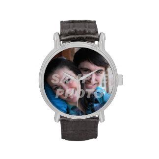 Your photo here memento occasion custom wristwatch