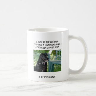 Your Photo Here! My Best Friend Coonhound Mix Coffee Mug