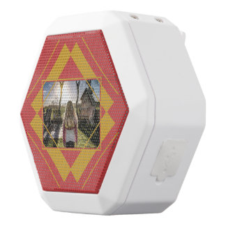 Your Photo in Geometric Pattern speaker