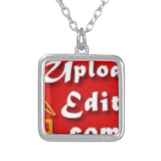 Your Photo On A Special Print Product Square Pendant Necklace