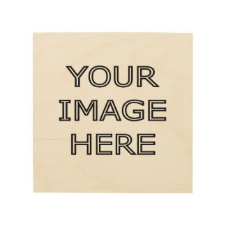 Your Photo On Personalized Wood Wall Art