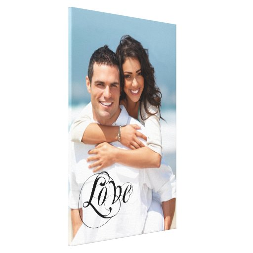 Your Photo Wrapped Canvas Canvas Print