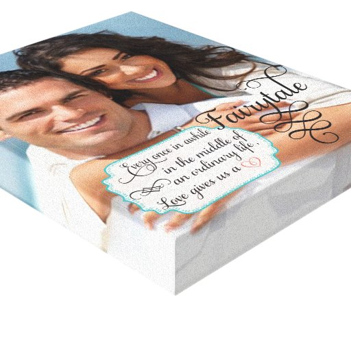 Your Photo Wrapped Canvas Fairytale Stretched Canvas Prints